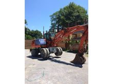 1995 Hitachi 115W Backhoe Loade