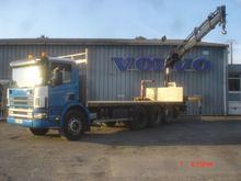 2004 Scania P-serie 8x4 Lorry w