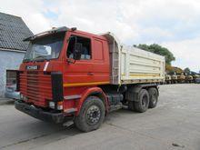 1989 Scania 112e 360 Tipper