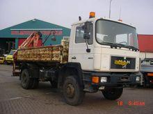 1995 MAN 17.232 TURBO Dumper tr