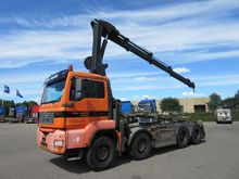 2006 MAN TGA 35.430 Lorry with