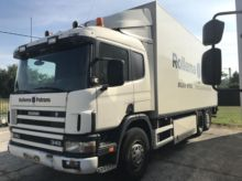 2003 Scania G114 340 Box with l