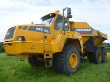 2009 Doosan Moxy MT41 Dumper