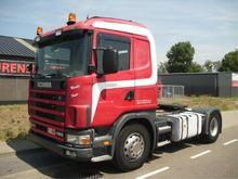 2002 Scania 124 420 MANUAL+TIPP