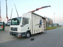 2008 MAN 8.180 Open flatbed wit