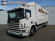 2002 Scania P 94 230 Closed box
