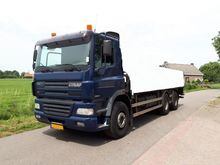 2002 Ginaf x3232 S Chassis cabi