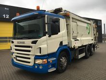 2009 Scania P320 6X2 Garbage tr