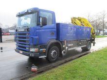 2003 Scania p94 300 MET 28 TON