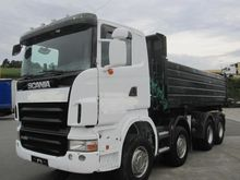 2007 Scania R480 8x4 Bordmatic