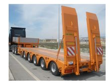 BRF 5-axle lowboy Low loader