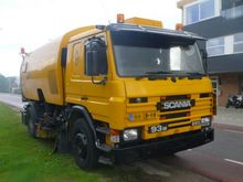 1995 Scania p93 veeg + tank Swe