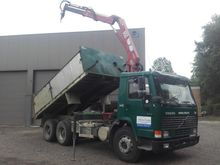 1997 Volvo FL12 6x4 Dumper truc