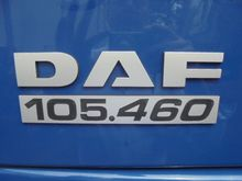 2011 DAF 105 XF 460 Tractor uni