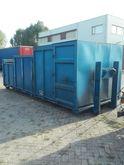 haakarm met 3 containers Open-T