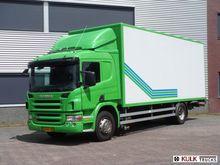 2008 Scania P 280 ALU-BOX Truck