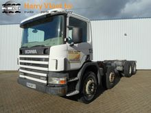 1998 Scania P 124 360 8x4 Chass