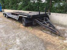 1989 Lohr TM3 Low loader