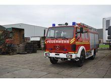 1984 Mercedes Benz 1222 AF Fire