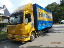 2008 DAF LF45-160 EURO5 Box wit