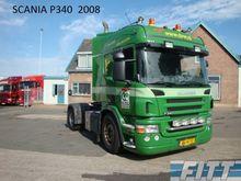 2008 Scania P340 trekker Tracto
