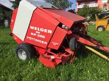Used Welger RP 200 i
