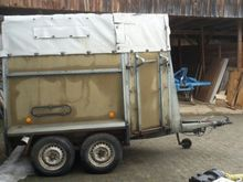 1984 Westfalia Cattle trailer