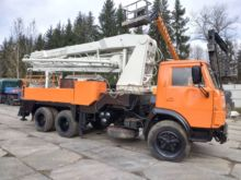 "Auto-concrete pump ""Kamaz"" SB-1"