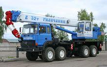 Rental Truck 32 ton, 30 + 9 m
