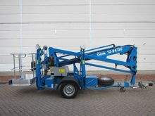 Trailer mounted platform Genie