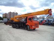 Truck Rental 25 tons, 40 meters