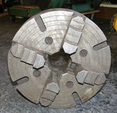 """12"""" 4-Jaw Chuck with DIN mount"""