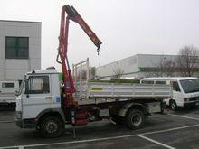 Iveco truck with crane AMCO VEB