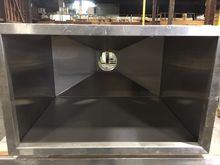Hood Canapies Stainless 48'' x