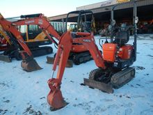 2014 Kubota K008T4 Excavator-Mi