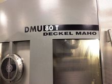Used 2002 DMG DMU-80