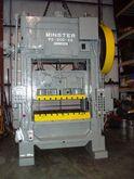 "1969 MINSTER P2-200 200 Ton, 4"""
