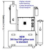 CHIPBLASTER JV-40, 3 - 10.5 GPM