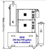CHIPBLASTER GV2-80, 3-10.5 GPM,