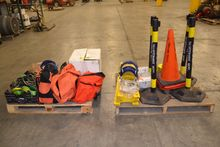 2 PALLETS OF ASSORTED SAFETY TO