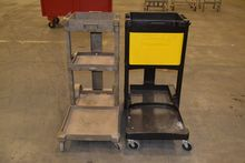 LOT OF 2 RUBBERMAID 6150 JANITO
