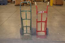 LOT OF 2 ASSORTED HAND TRUCKS