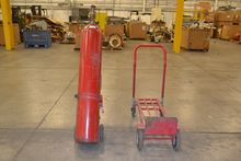 LOT OF 2 CYLINDER CARTS, WITH E