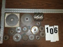 HORIZONTAL MILLING CUTTERS, 1""