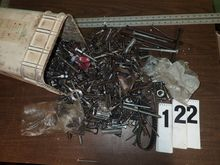 BUCKET OF HARDWARE INCL. BOLTS,