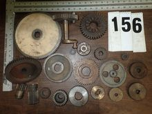 ASSORTED LATHE CHANGE GEARS