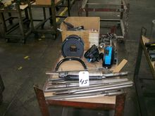 STRAIGHT DRILL BITS (9) AND OTH