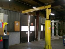 FLOOR MOUNTED JIB CRANE, 1/2 TO