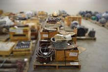11 PALLETS OF ASSORTED VALVES,