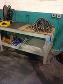 STEEL TABLE 5'X2.5'